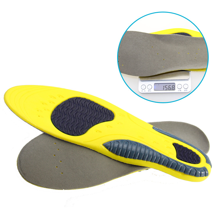 PU foam Triple color Sport Insole-PUfoam456