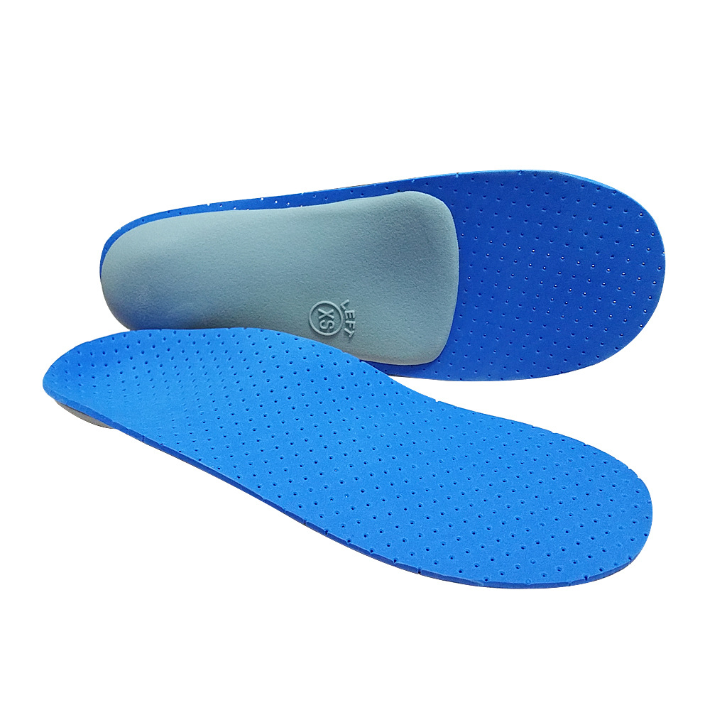 Nylon and EVA foam Full length Orthotic arch support insole orthopedic for flat feet Fallen Arches