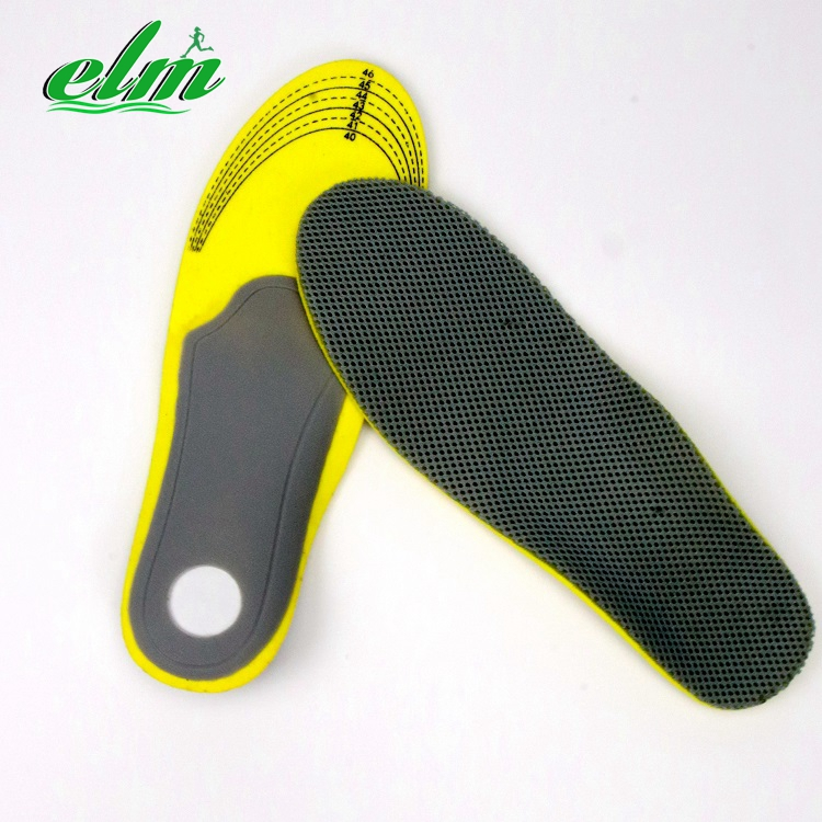 EVA Air Mesh Arch support Odor resistant insole for sport