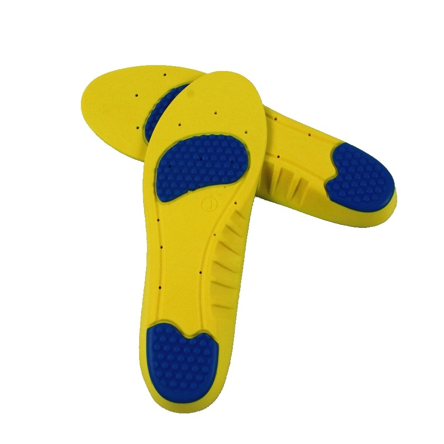 Shock absorb absorption polyurethane PU foam insole insert for shoes