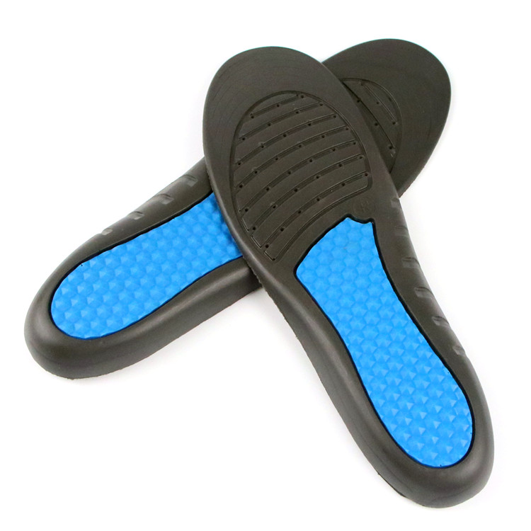 OEM Factory price Pu foam comfort shock absorption Honeycomb Structure for Running Sports insole