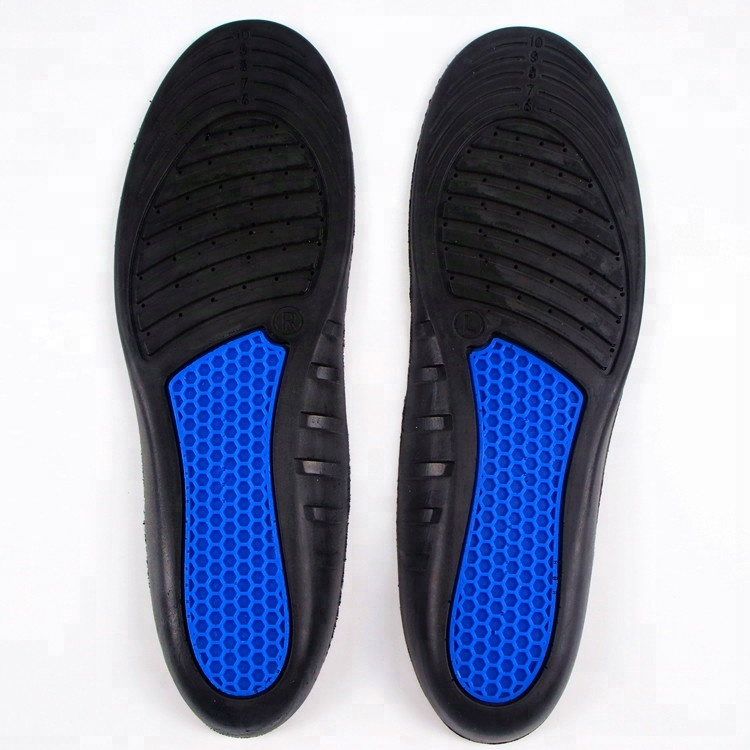 OEM Pu foam pu comfort shock absorption Honeycomb design for Sports insole
