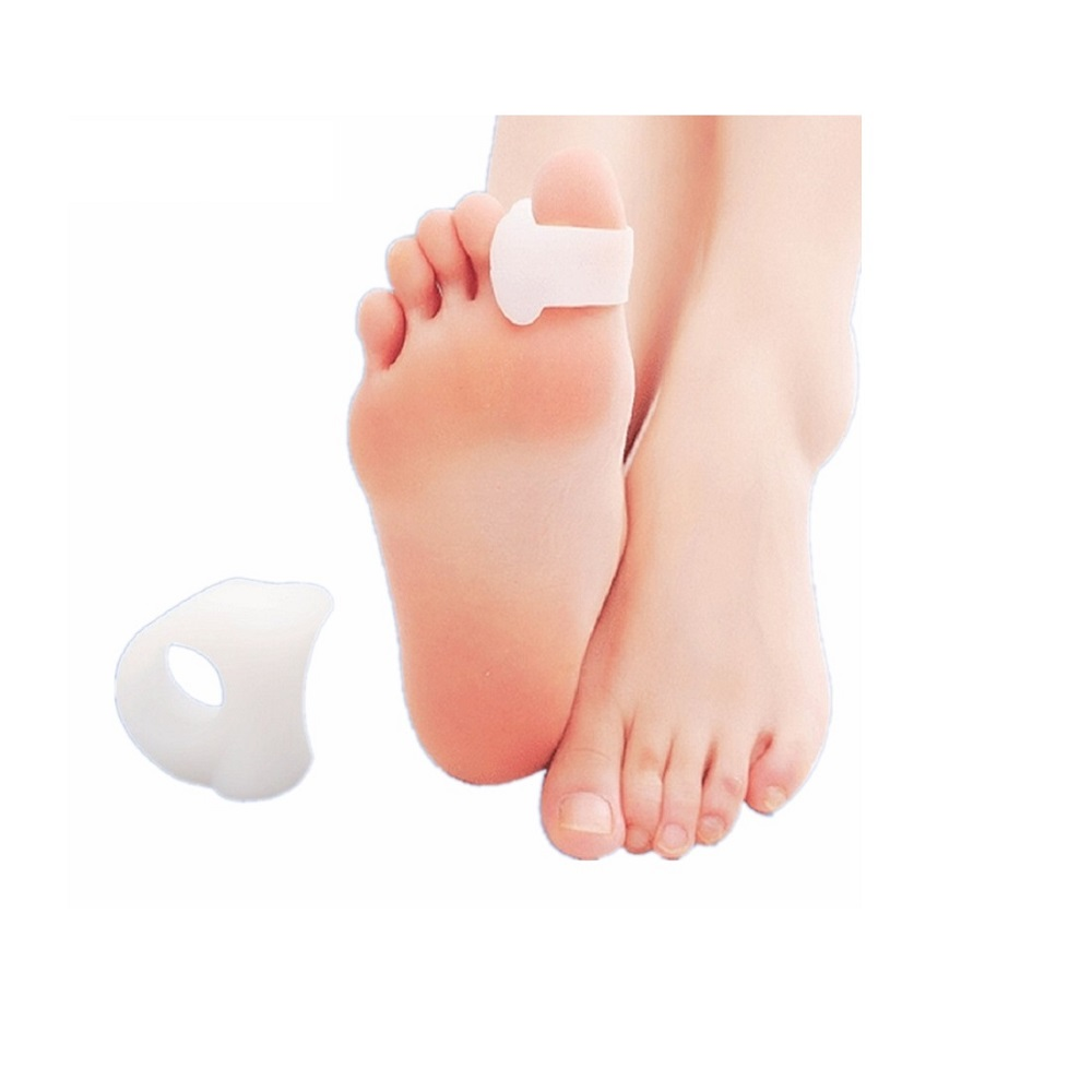 2 Loops Gel Bunion Corrector big toe 1 ring SEBS Gel Silicone gel Toe separator with one ring for fixting on toe of correction hallux valgus