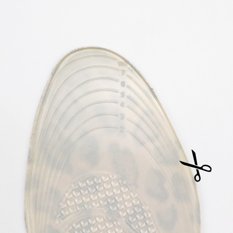 Useful product Flat feet insoles for correct pigeon toe and flat foot
